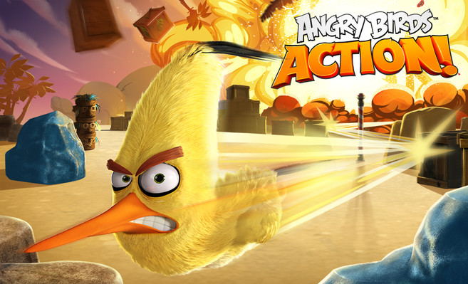 Rovio Rilis Angry Birds Action! Jelang Peluncuran Filmnya