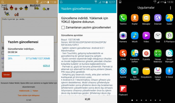 Samsung Galaxy Note 4 Versi Exynos Dapatkan Update Marshmallow