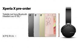 Sony Xperia X Mulai Dijual Melalui Pre-Order di Belanda