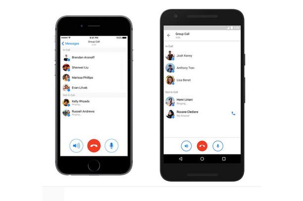 Update Facebook Messenger Tambahkan Dukungan Panggilan Grup Hingga 50 Orang