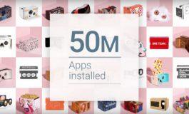 50 Juta Aplikasi Google Cardboard Telah Diunduh