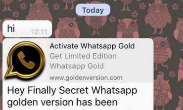 Hati-hati Dengan WhatsApp Emas