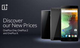 Jelang Peluncuran OnePlus 3, Harga OnePlus X, One dan 2 Kini Lebih Murah