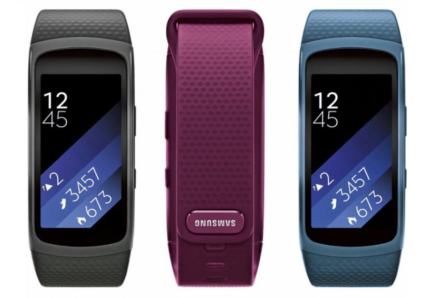 Kerennya Samsung Gear Fit 2 Terlihat Dalam Tiga Pilihan Warna 1