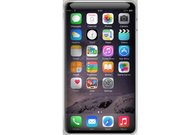Layar Akan Penuhi Sisi Depan iPhone di 2017