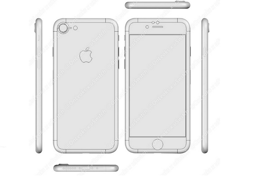 Munculnya Desain CAD iPhone 7 & 7 Plus 1