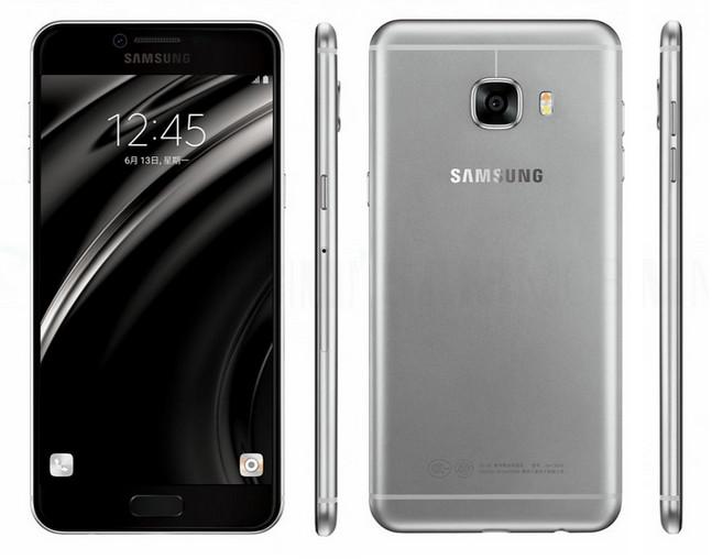Munculnya Render Resmi Samsung Galaxy C5 abu-abu