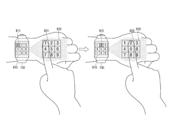 Paten Baru Samsung Buat Smartwatch Mampu Proyeksikan UI ke Tangan Pengguna