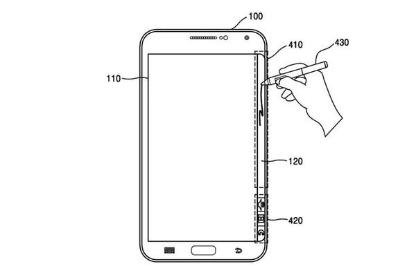 Paten Samsung Mungkinkan Pengguna Corat-Coret Layar Lengkung Galaxy Note Edge