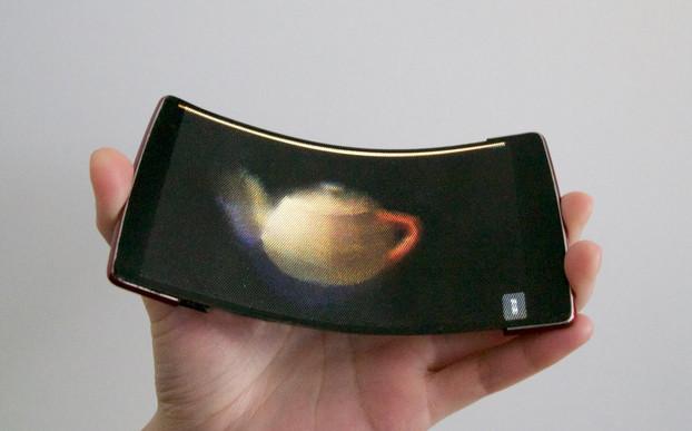 Peneliti Ini Berhasil Buat Ponsel Fleksibel Dengan Layar Hologram