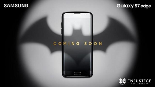 Samsung Galaxy S7 Edge Bertema Batman Dipersiapkan