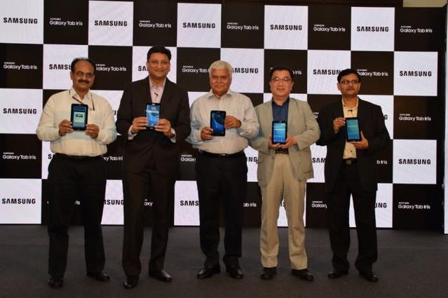 Samsung Galaxy Tab Iris Berteknologi Pemindai Iris Diluncurkan di India