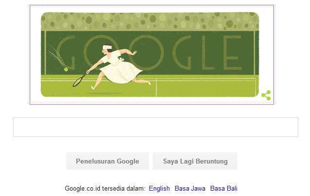 Suzanne Lenglen, Sang Pelopor Tenis Profesional Wanita Muncul di Google Hari Ini