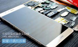 <em>Teardown</em> Ungkap Kesamaan Hardware Honor V8 dan Huawei P9