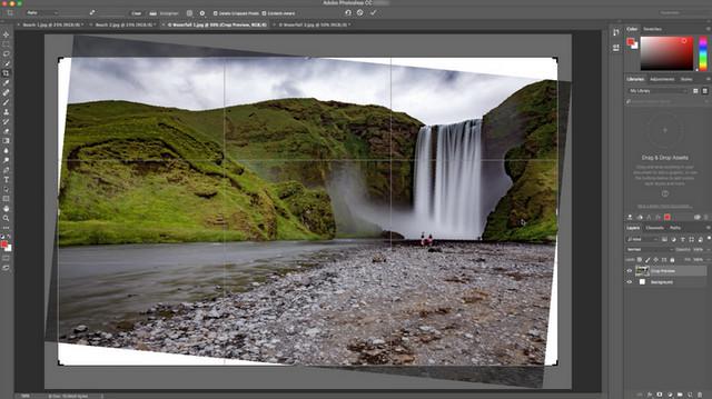 Update Photoshop CC Mendatang Bawa Fitur Crop Tools yang Lebih Cerdas