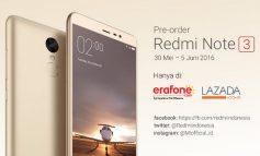 Xiaomi Redmi Note 3 Pro (Garansi) Resmi Sudah Hadir di Indonesia
