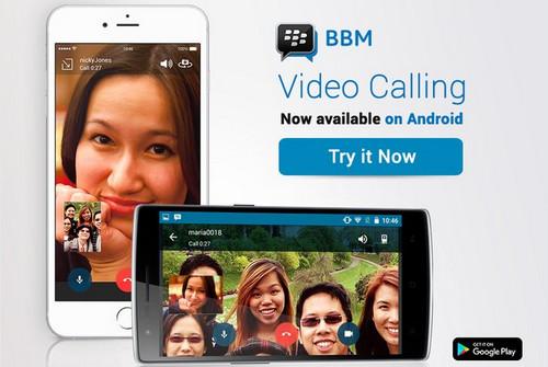 Anda Kini Bisa Mengggunakan Fitur Panggilan Video di BBM