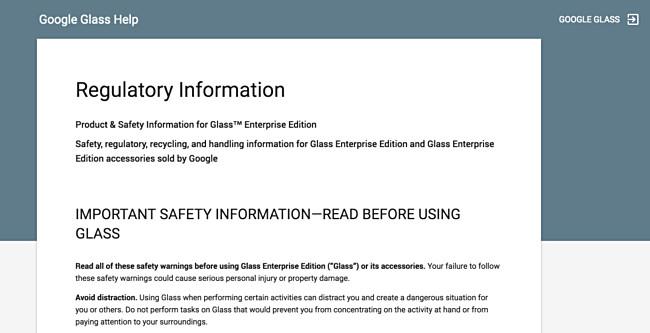 Google Glass Enterprise Edition Muncul di Situs Dukungan Google