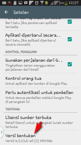 Cara Memperbarui Google Play Store Service Lama Ke Versi Terbaru Kolom Gadget