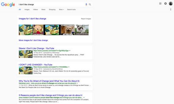 Google Rombak Situs Pencariannya Ala Material Design