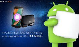 Pembaruan Marshmallow Bergulir Untuk Lenovo Vibe K4 Note