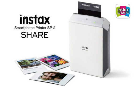 Printer Fujifilm Instax SHARE SP-2 Diumumkan