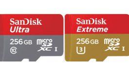 SanDisk Perkenalkan microSD 256GB Dalam Varian Ultra dan Extreme