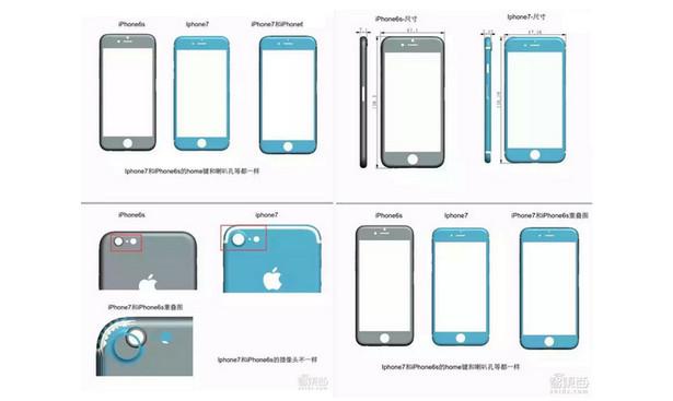 iPhone 7 Lebih Tebal, Tapi Lebih Pendek dari iPhone 6s