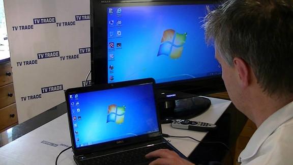 Cara Menyambungkan Laptop ke TV Menggunakan HDMI, VGA dan USB