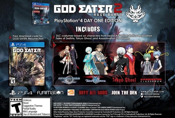 God Eater 2: Rage Burst Versi Inggris Rilis 30 Agustus di Steam