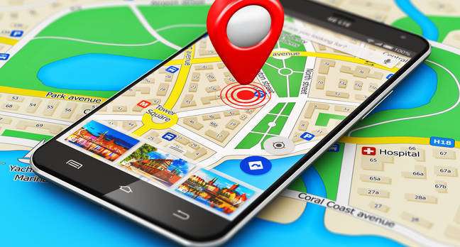 Google Maps 2 - Ilustrasi
