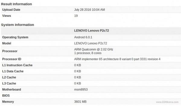 Muncul di Geekbench, Lenovo Vibe P2 Segera Tiba?
