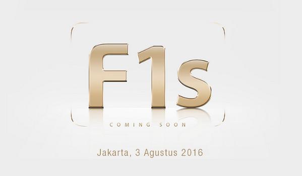 Rilis 3 Agustus, Intip Spesifikasi Oppo F1s