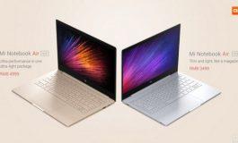 Diluncurkan, Ini Harga Resmi Xiaomi Mi Notebook Air