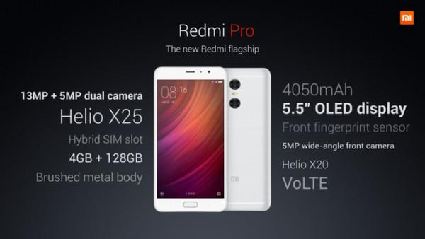 Xiaomi Redmi Pro Diluncurkan, Dilengkapi Dual-Kamera 13MP