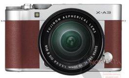 Bocornya Gambar Render Kamera Fujifilm X-A3