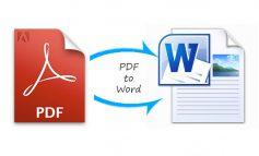 Cara Mengubah File PDF ke Word Secara Online dan Offline