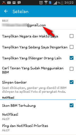 how to change blackberry id email