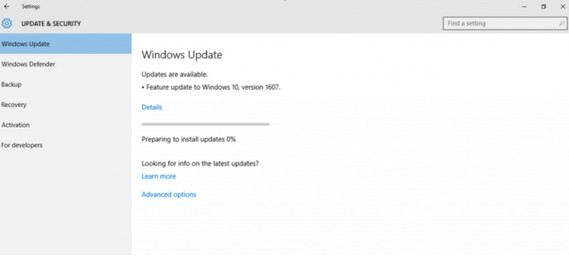 Download Update Windows 10 Anniversary Dimulai Hari Ini