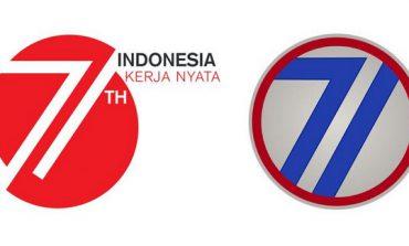 Logo HUT Kemerdekaan RI Mirip Infanteri 71 Amerika Serikat?