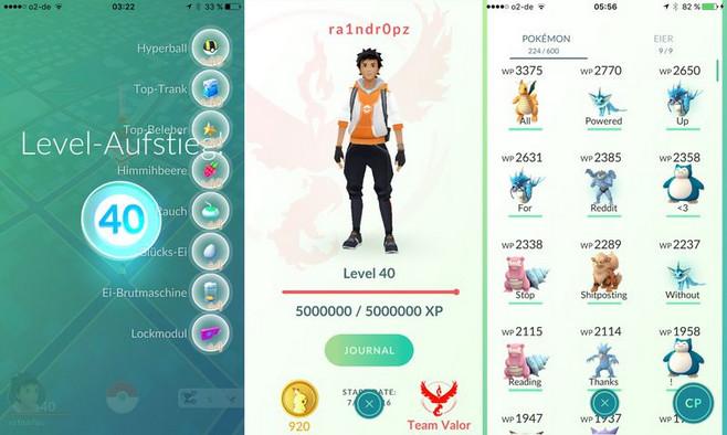 Menggunakan Bot Pokemon Go, Orang ini Capai Level Tertinggi