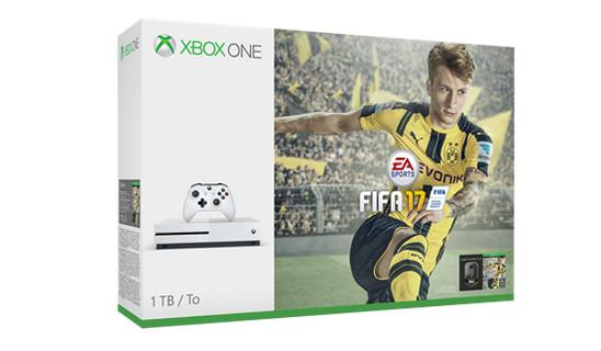 Microsoft Umumkan Xbox One S Bundel FIFA 17