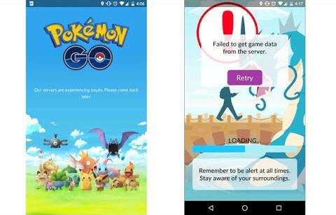 "Muncul ""failed to get game data from server"" Akun Pokemon Go Anda Mungkin Kena Banned"
