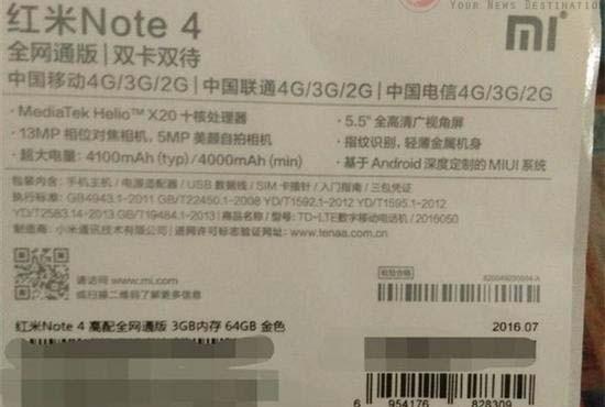 Xiaomi Redmi 4 & Redmi Note 4 Mungkin Diluncurkan 25 Agustus