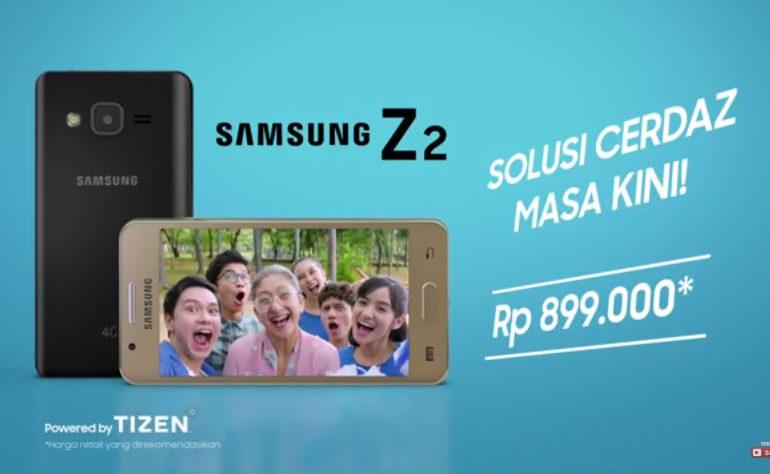 Ini Spesifikasi Samsung Z2, Ponsel Ber-OS Tizen Selain Smartphone Android Seri Galaxy