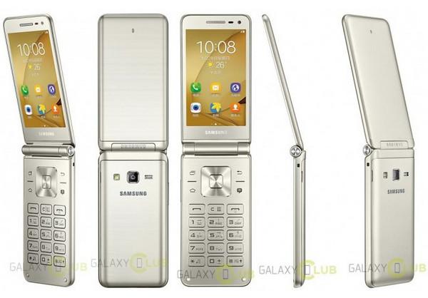 Samsung Galaxy Folder 2 Berpose dalam Gambar Bocoran