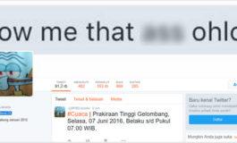 #3 Peretasan Besar di Indonesia: Akun Twitter BPBD Jakarta Diretas Jadi Squidward