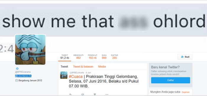 3-peretasan-besar-di-indonesia-akun-twitter-bpbd-jakarta-diretas-jadi-squidward