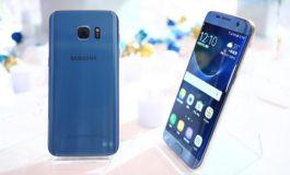 Cantiknya Samsung Galaxy S7 Edge Blue Coral