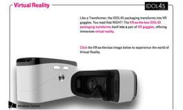 Kotak Kemasan Alcatel Idol 4S Bisa Berubah Jadi Headset VR